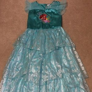 Disney Store Fancy Ariel Nightgown with Ruffles